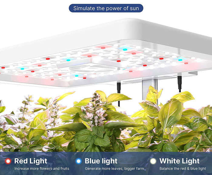 iDOO indoor Garden - Simulate the power of sun