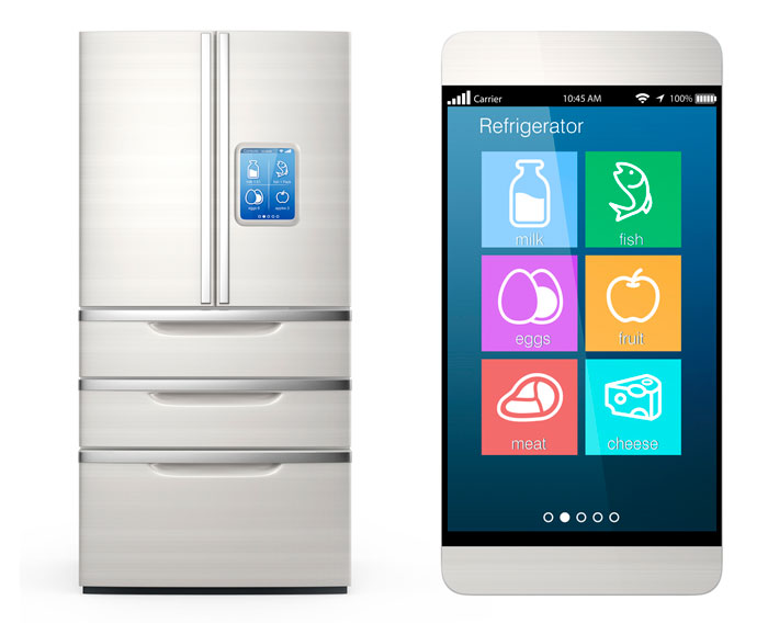 What is a smart fridge